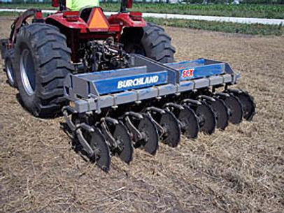 Burchland SCX Straw Crimper, straw blower, straw tackin, straw crimping, erosion control, erosion and sediment control
