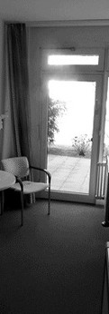 Patientenzimmer vorher