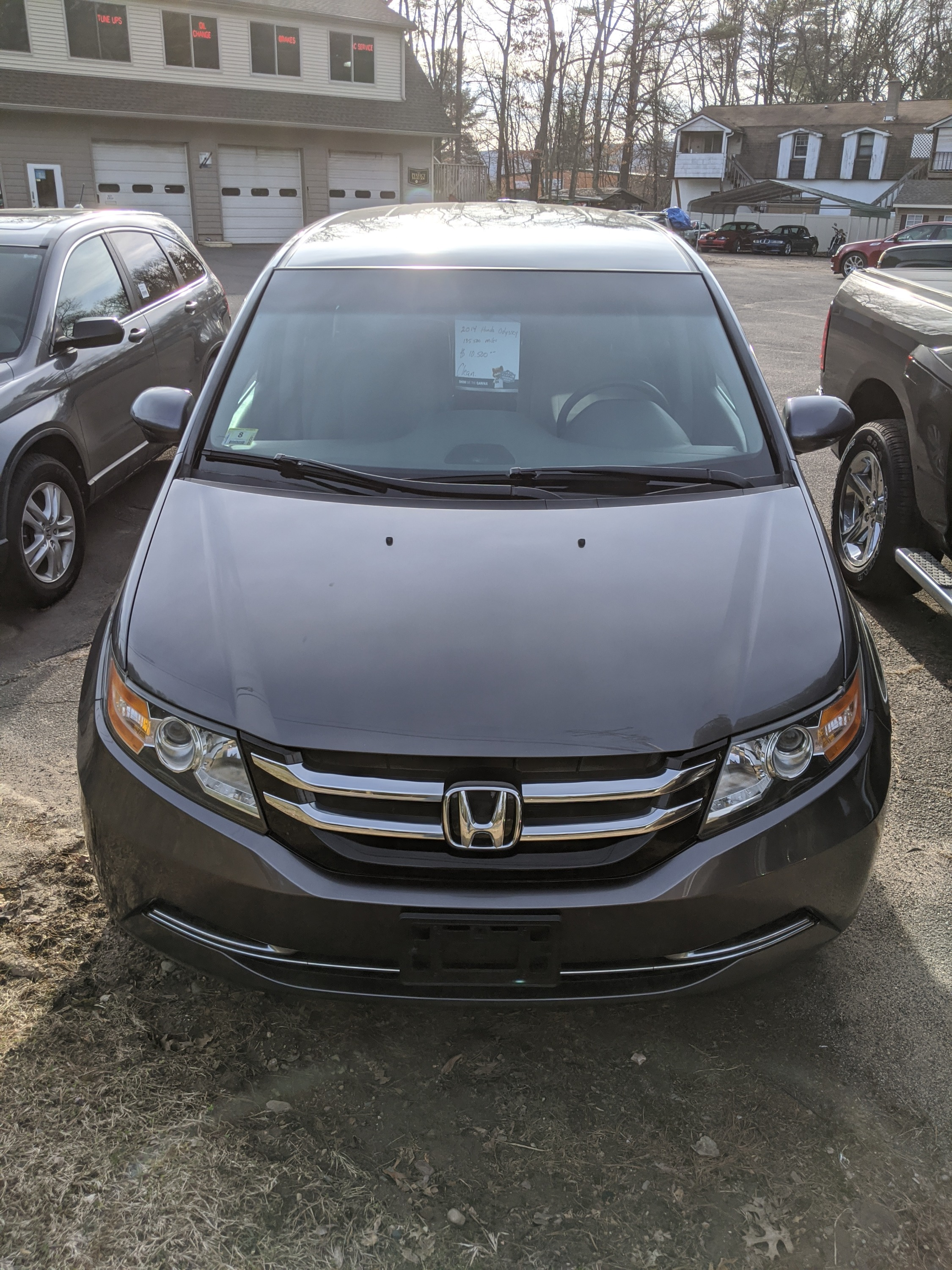 2014 Honda Odyssey with 135,500 miles