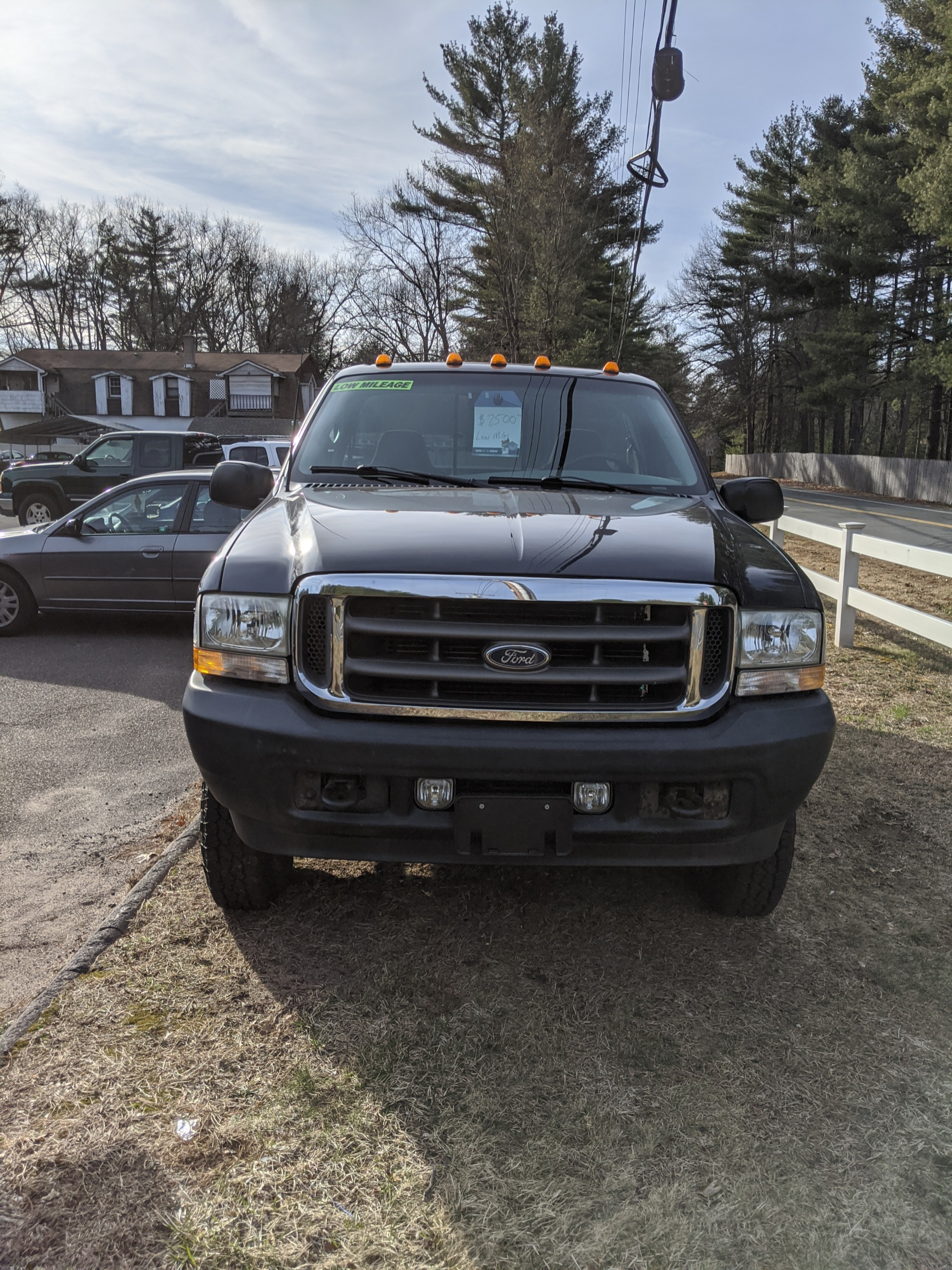 2002 Ford F-250 with 67,715 miles