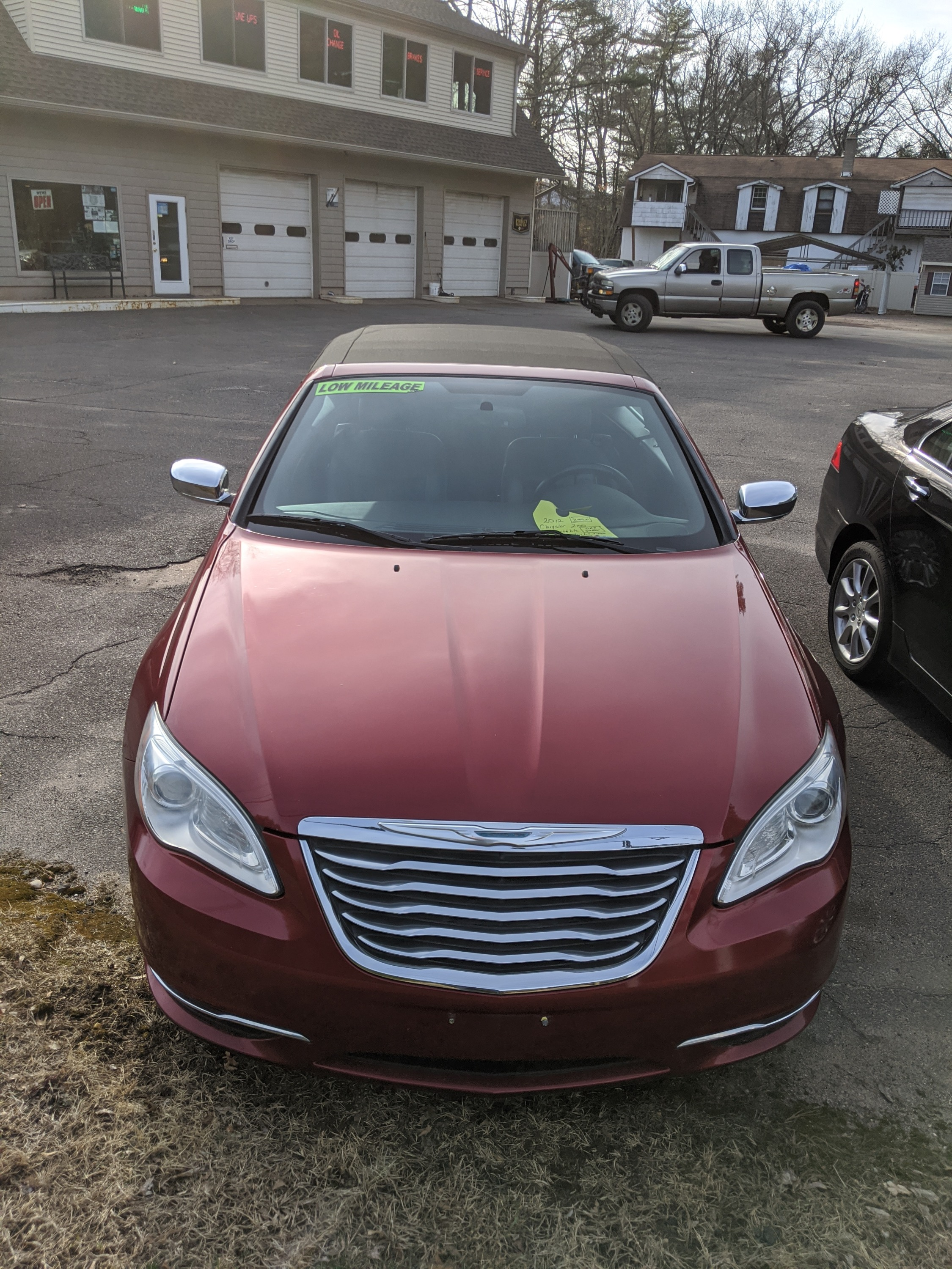 2012 Chrysler 200 with 72,500 miles