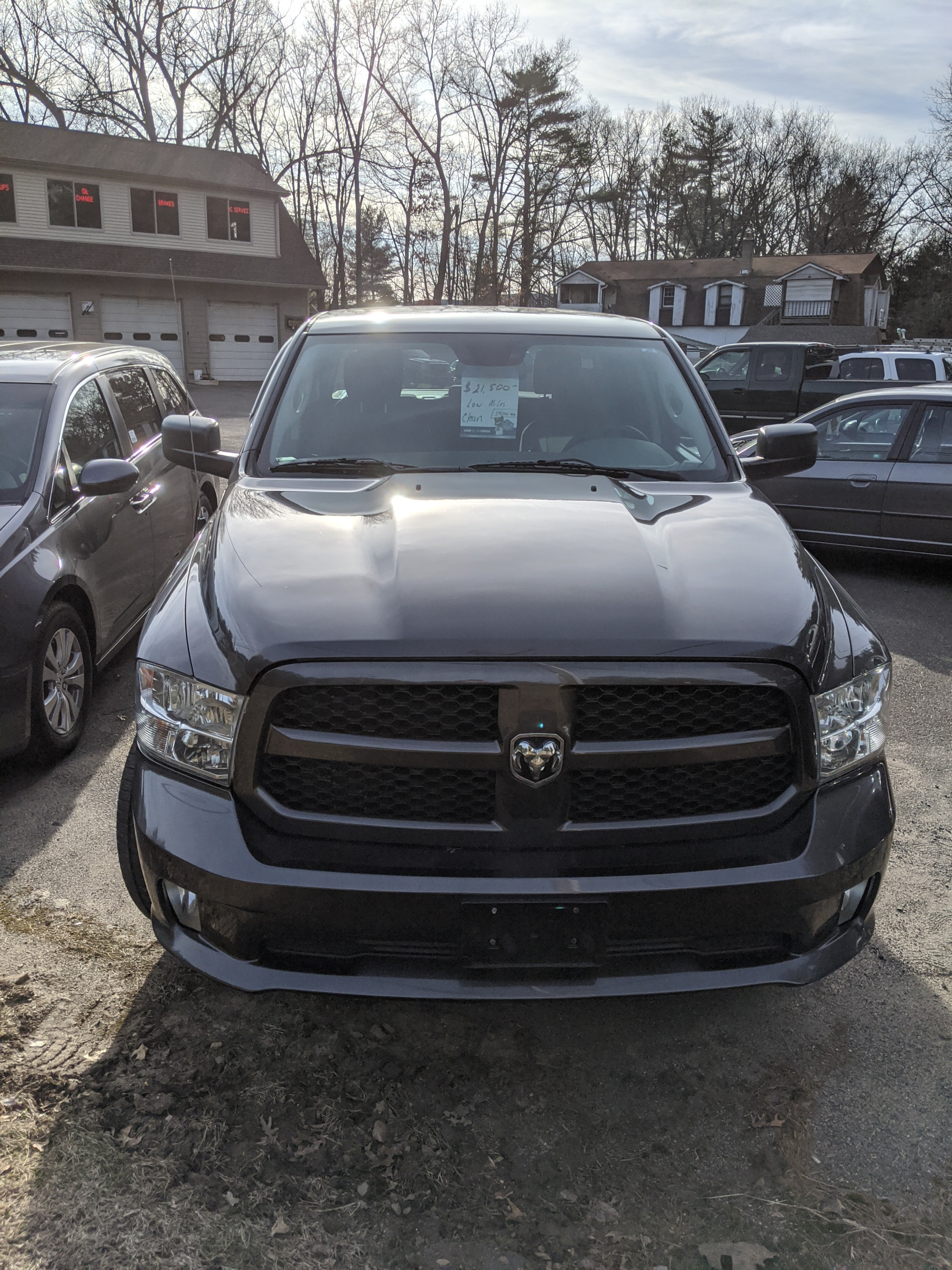 2014 Dodge Ram 1500 with 53,345 miles