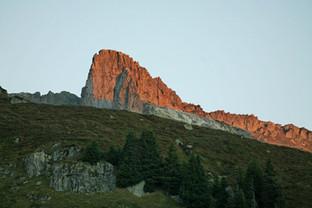 Abendsonne am Berg