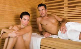Sauna im Bogn Sedrun