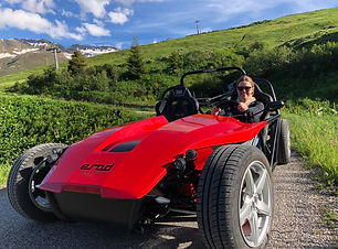 eRod driving fun in Sedrun
