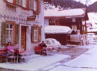 Hotel Krüzlipass in den 60-er Jahren