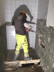 Umbau Dusche WC