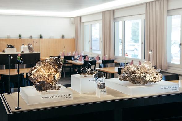 Kristallausstellung Dosi Venzin Hotel Krüzli