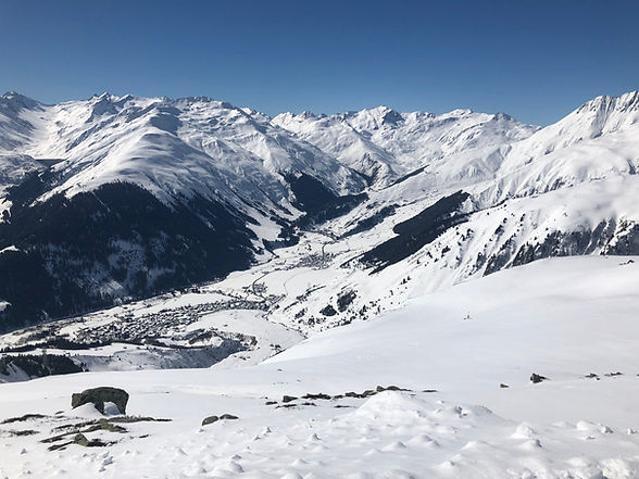 Val Tujetsch im Winter