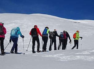 Schneeschuhwandern Sedrun