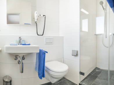 Hotel Krüzli Badezimmer
