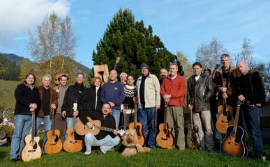 Guitar workshop at the Krüzli
