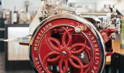 Schwungrad Van Berkel Aufschnittmaschine