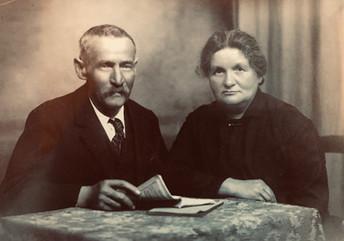 Florentin e Carlina Cavegn