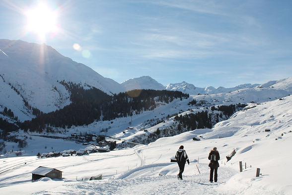 Winterwandern rund um Sedrun