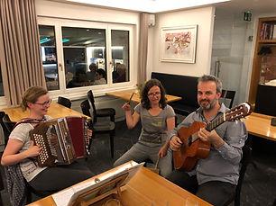 Hausmusik im Hotel Krüzli