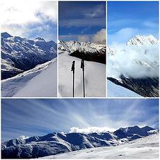 Silvester Schneeschuhwandern St. Antönien
