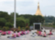 Yoga at People's Park