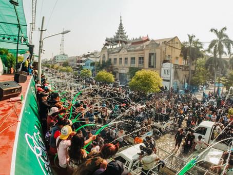 April! Party Hard in Yangon!