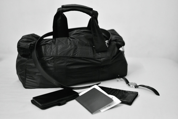 Muji Boston Foldable Carry-on Duffle Bag
