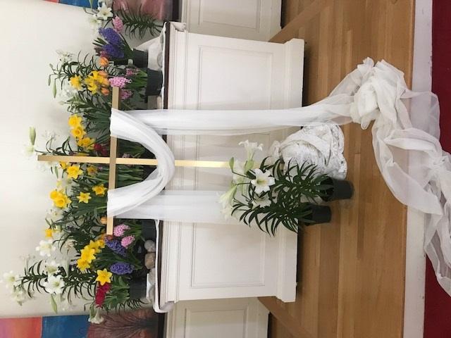easter altar 2017b