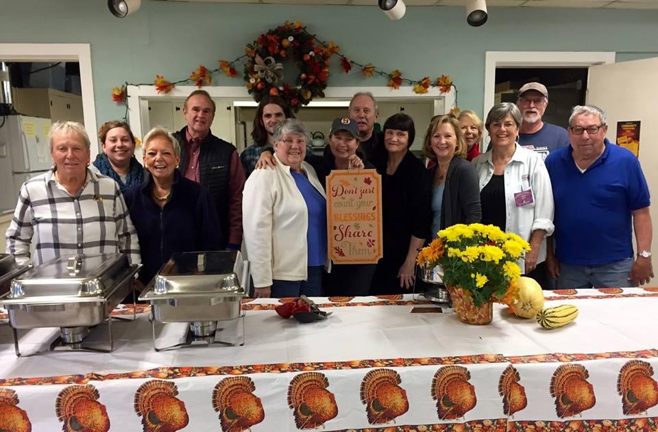 Thanksgiving Community Meal Volunteers 2016