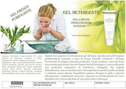 Scheda X catalogo detergente acne