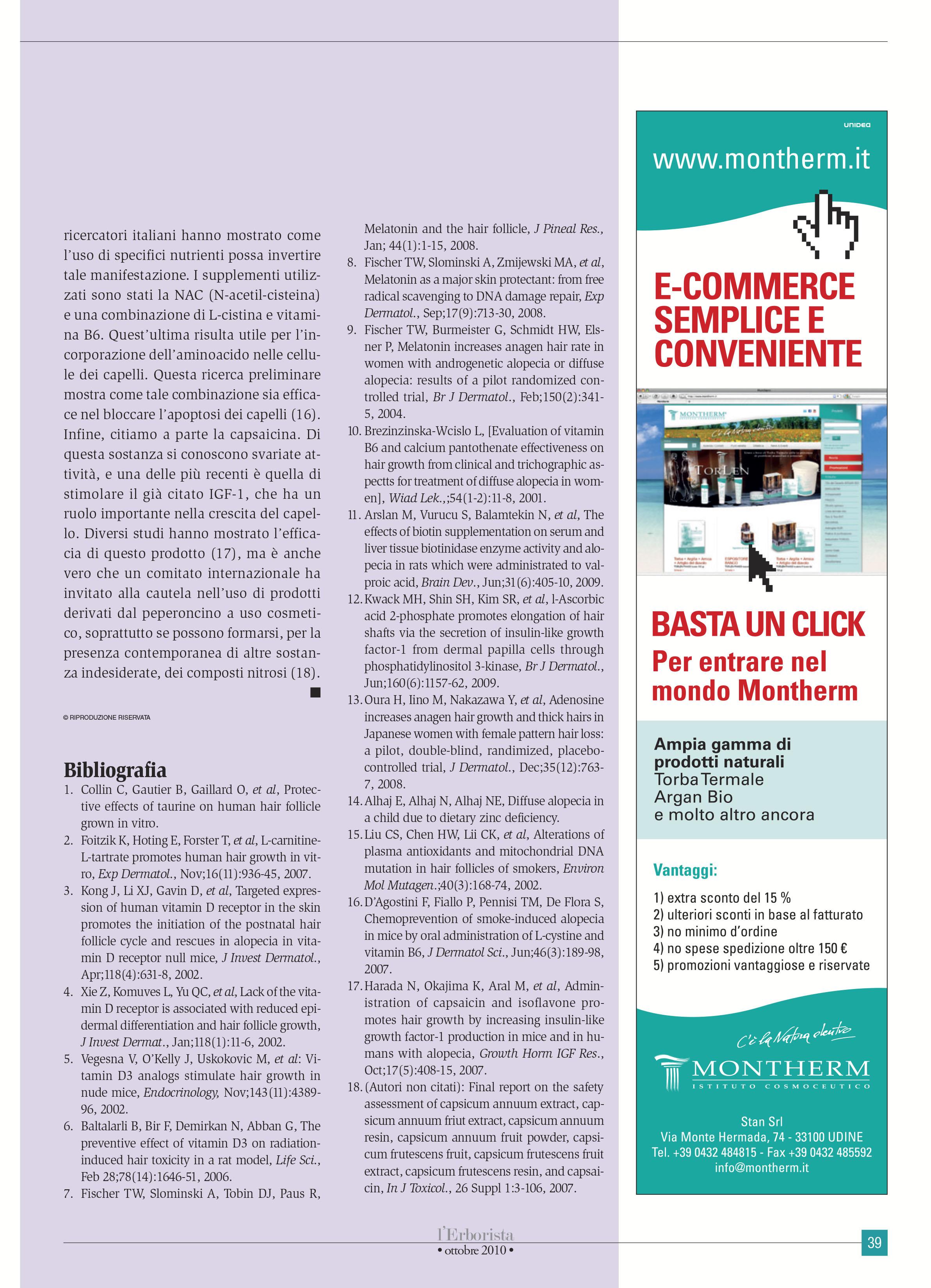 erborista ott 2010 e commerce
