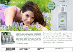 Scheda X catalogo shampoo ortica
