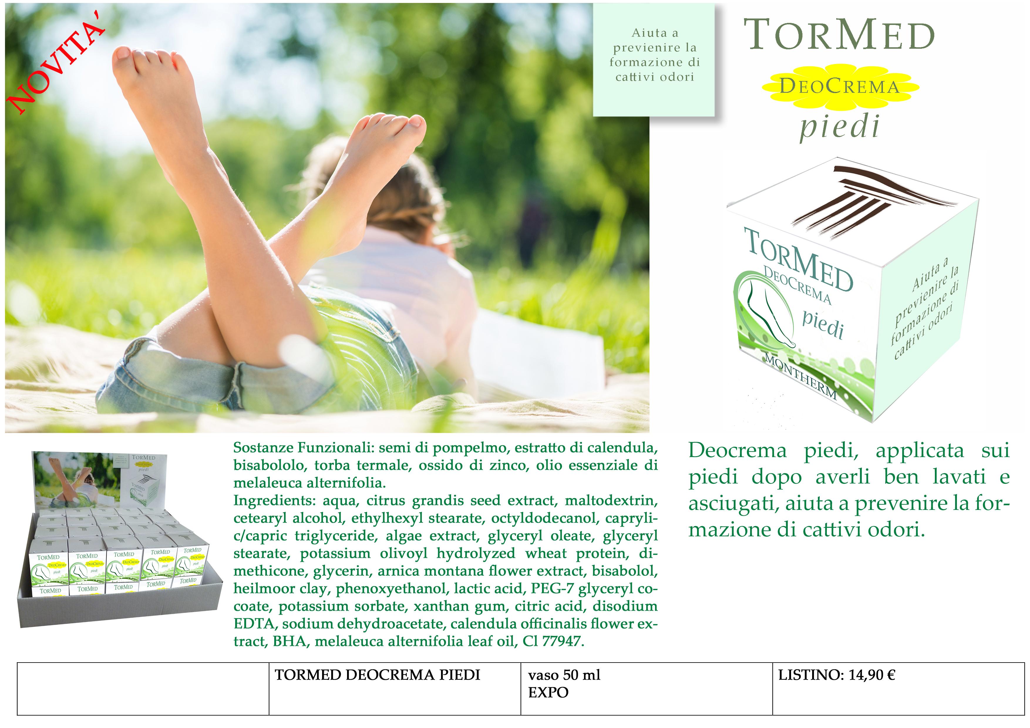 TORMED deocrema piedi