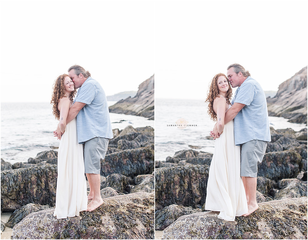 Sand Beach Engagement Session