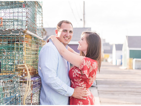 Portland Maine Engagement Session | Kelly & Mike