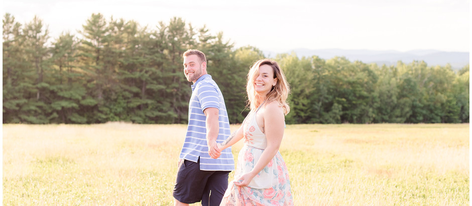 Cyanna & Chris | Otisfield Engagement Session