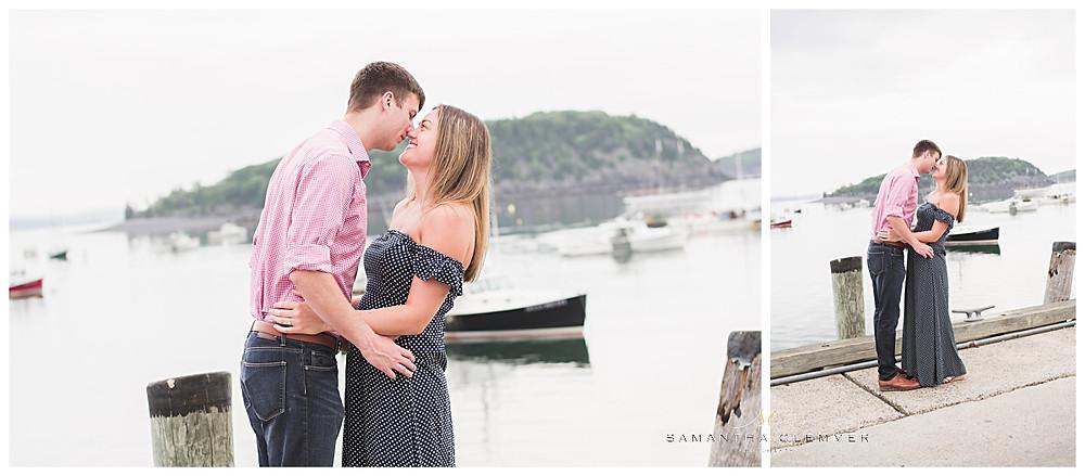 Bar Harbor Engagement Session
