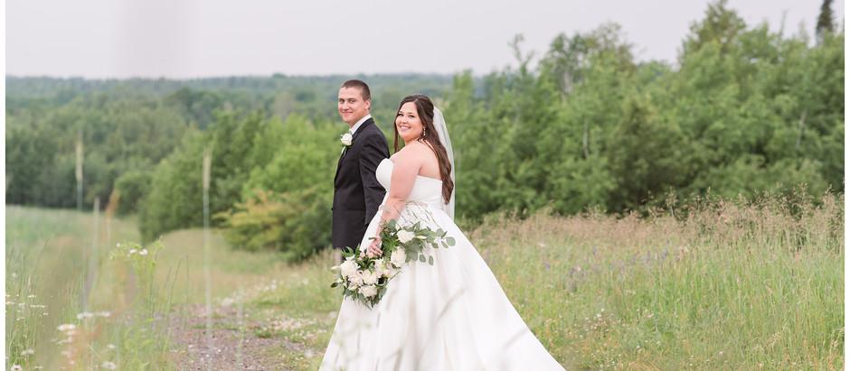 Sunset Farm Wedding | Houlton, Me | Lizzi & Caleb
