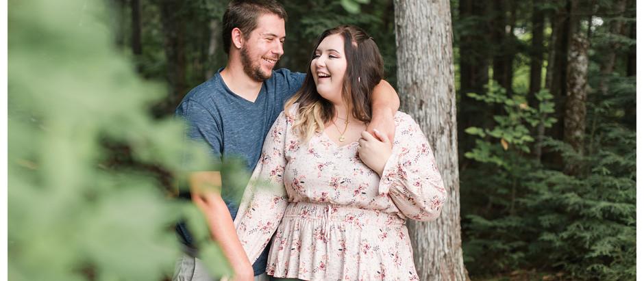 Skylar & Nick | Aroostook County Engagement Session