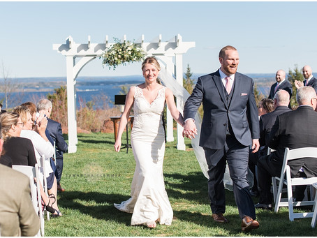 Point Lookout Wedding | Maine | Jess & Craig