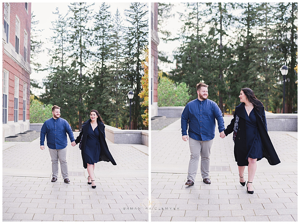 University of Maine engagement session