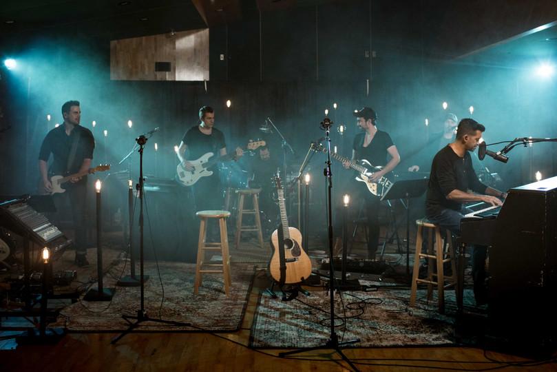 Live Studio recording with Aaron Shust