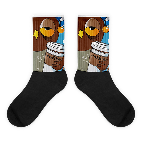 official sleepless owl socks