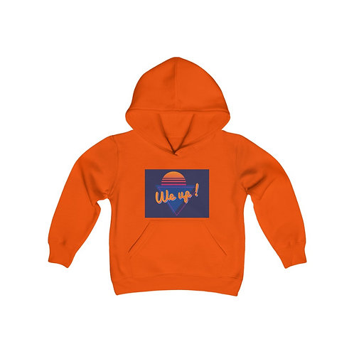 WE UP! SLEEPLESS Youth Heavy Blend Hooded Sweatshirt