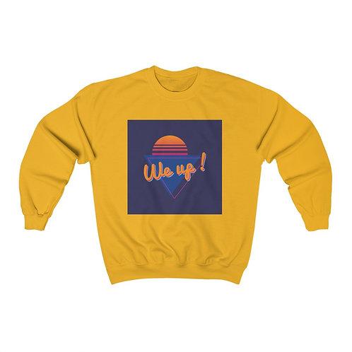WE UP!  SLEEPLESS Unisex Heavy Blend™ Crewneck Sweatshirt