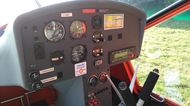 Formation pratique en vol
