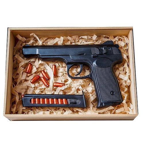 Автоматический пистолет Стечкина шоколадный