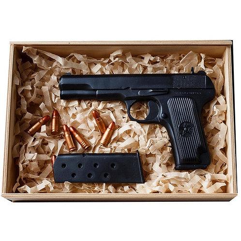 Пистолет Тульский Токарева (ТТ) шоколадный