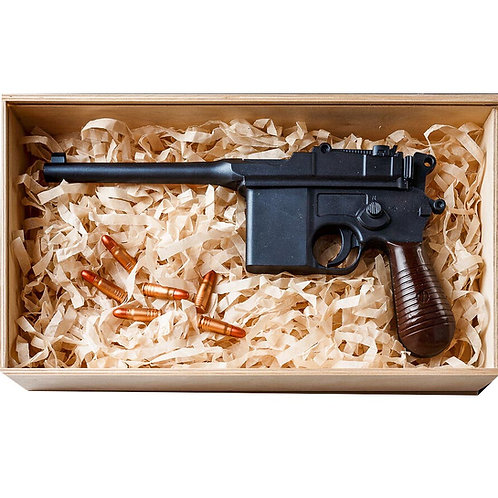 Пистолет Mauser C96 шоколадный
