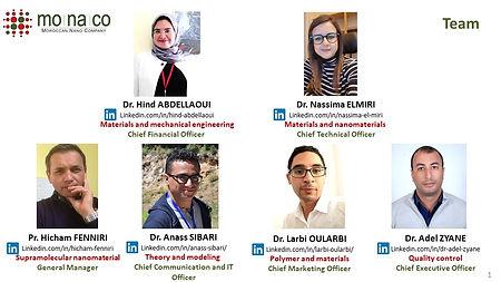 MONACO Team Profiles