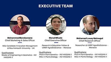 Amendy Executive Team