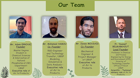 Air to Products Team Members _ Contact I