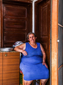 Old Lady in Rhodes, Greece